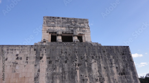 Foto op Canvas Oude gebouw Mayan cities