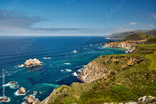 Foto op Canvas Kust Pacific coast landscape in California