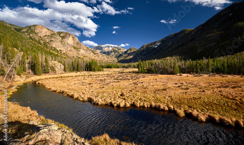 Keuken foto achterwand Verenigde Staten East Inlet Creek in Rocky Mountain National Park