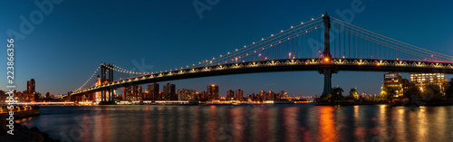 Manhattan Bridge in New York, USA