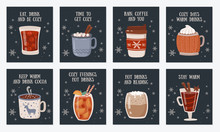 Vector Postcard Collection Wit...