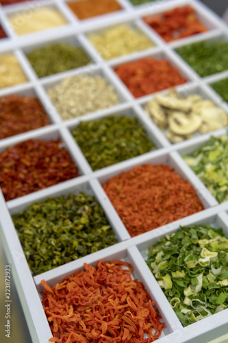 Foto op Plexiglas Kruiden Eastern dried seasonings.