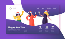 Winter Holidays Landing Page T...