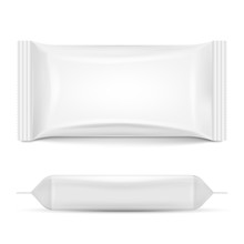 Flow Pack Isolated On White Ba...