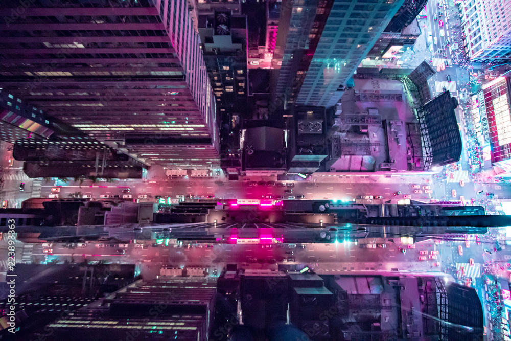 Fototapety, obrazy: New York 2077
