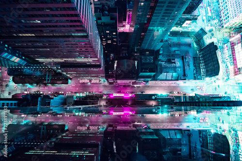 Canvas Print New York 2077
