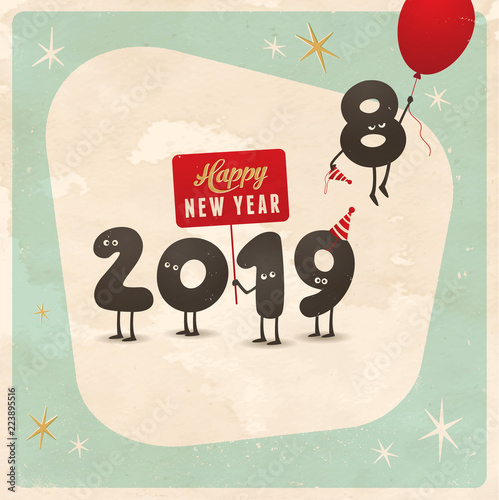 Happy new year funny hd photo