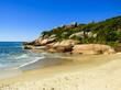 A view of Gravata beach in Florianopolis, Brazil