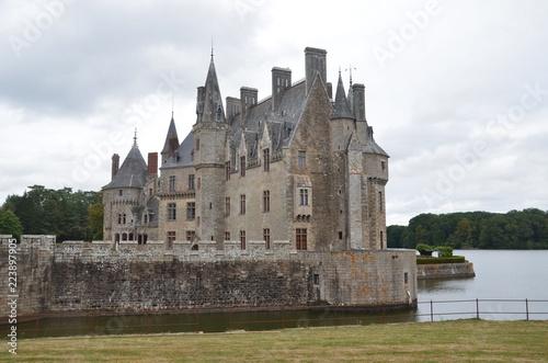 Foto op Plexiglas Kasteel Château de la Bretesche
