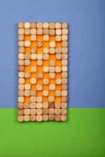 Wooden Toy Building Blocks In Shape High House