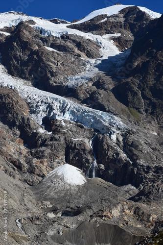 Monte Rosa - ghiacciaio del Lys