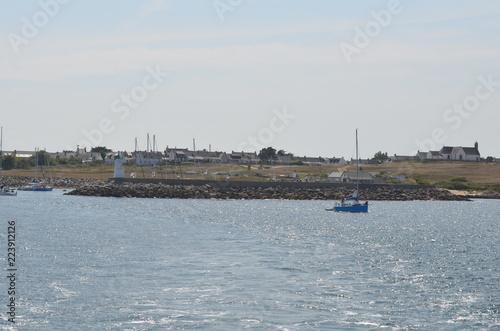 Poster Port Port de l'ile du Hoëdic