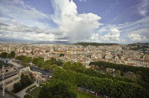 Cagliari's Cityscape