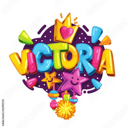 Fotografía  Victoria baby girl name