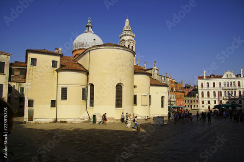 Exterior view of the church of Santa maria Formosa