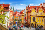 Fototapeta Uliczki - Old Prague street