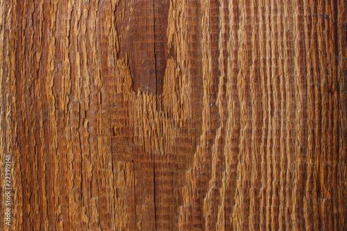 Fotografie, Obraz  Beautiful old rough wooden surface