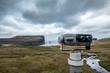 binoculars views of sea