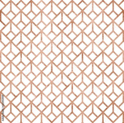 rozany-zloty-wzor-geometryczny