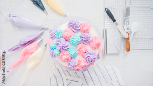 Fotografia Unicorn cake