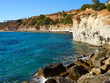 Famous coast beach of Cabo Roig. Province of Alicante. Costa Blanca. Spain