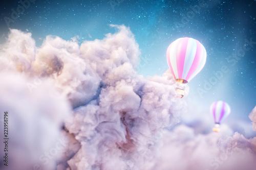 Naklejki do przedszkola over-the-clouds
