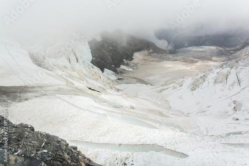 Fotografie, Obraz  Vue sur le glacier d'aletsch