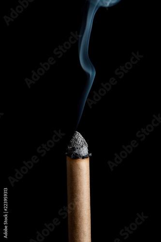 Photo  Burning moxibustion