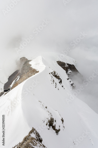 Fotografie, Obraz  Mountains and clouds playing