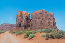 Wild West USA. Monument Valley...