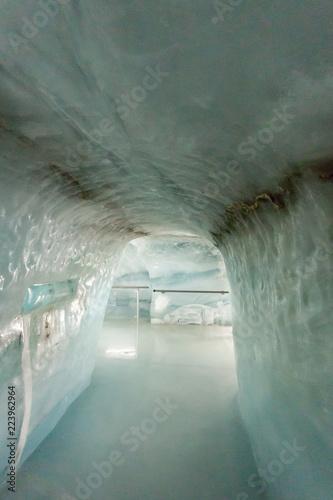 Tunel na lodowcu