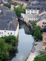 Fototapeta na wymiar  view of the city, luxenburg
