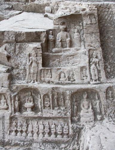 Tuinposter China Longmen Grottoes