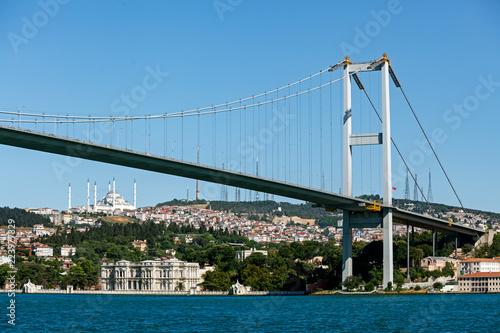 Fotomural Fatih Sultan Mehmet bridge Istanbul