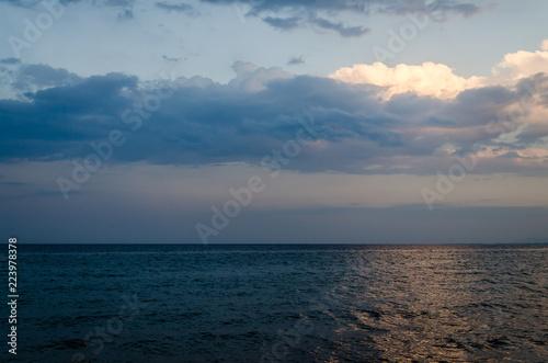 Staande foto Zee / Oceaan Open sea