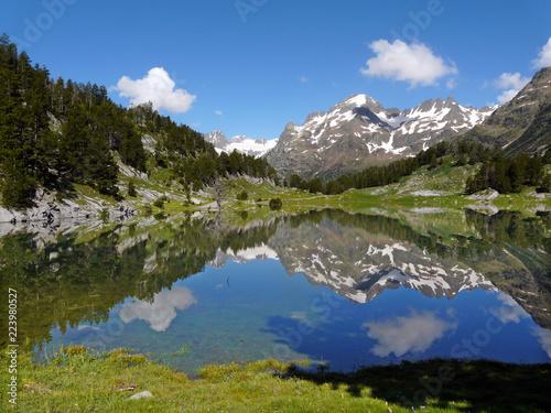 Платно Plan d´Están. Valle de Benasque. Pirineos