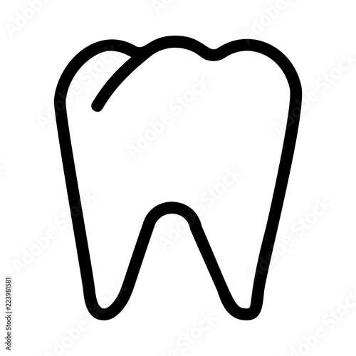 Fotografie, Obraz  teeth