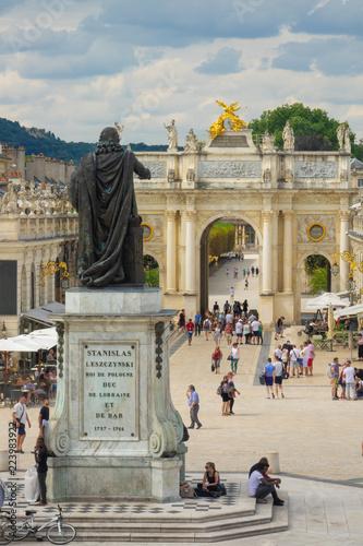 Nancy, Place Stanislas, Lorraine Tablou Canvas