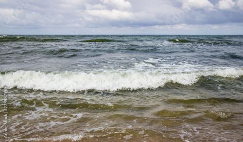 Staande foto Zee / Oceaan Sea landscape. View of the Baltic sea.