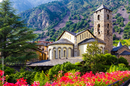 Photo Sant Esteve church in Andorra la Vella, Andorra
