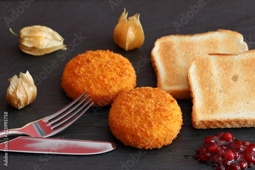 Gebackener Camembert