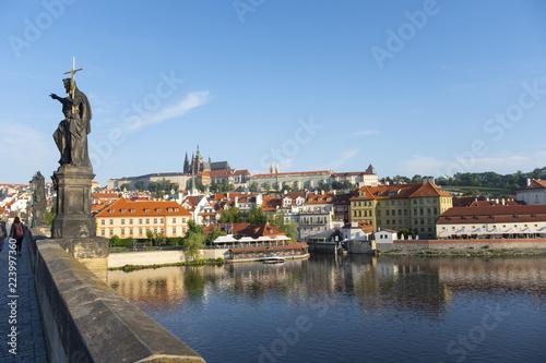Staande foto Praag view of prague