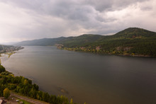 View On Yenisei River Near Kra...