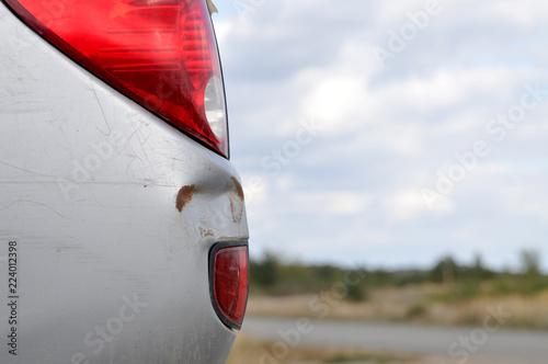 Fotografía  beule alt schaden lackschaden karosserieschaden delle blech pkw auto