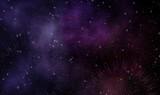 Abstract mandala galaxy illustration design background - 224013162