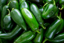 Bunch Of Jalapeño Peppers On ...