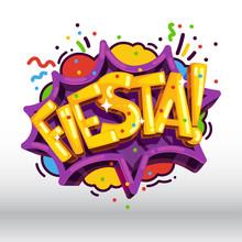 Fiesta Inscription Holiday Par...