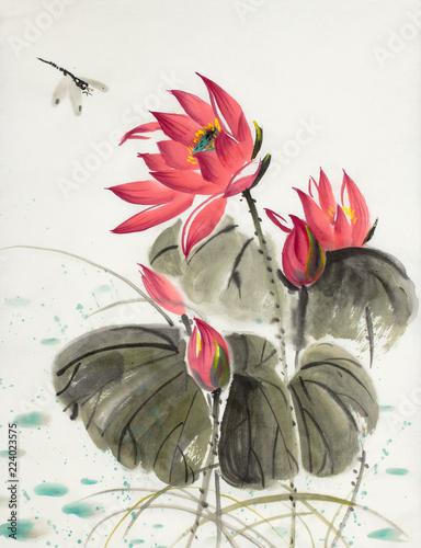 kwiat-lotosu-i-wazka