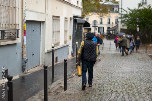 Fotografie, Obraz  Rue Parisienne