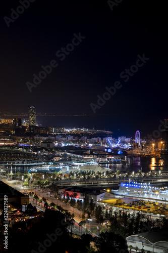 Foto  Street lights of Barcelona